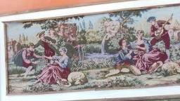 Tapeçaria antiga 1,50x63cm