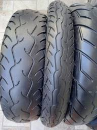 Pares de pneus pra harley 883,vulcan, shadow, dragstar etc..