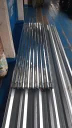 Somos de Manaus Promoção de telhas zinco+galvanizada mede 2,44 X 0,66 Valor 21,00