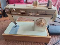 Máquina costura antiga singer Flex