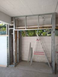Ale instalado de drywall