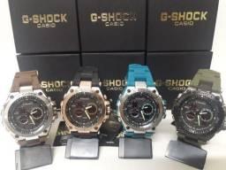 Relógio G-Shock de Ferro a Prova D´Agua na Caixa
