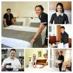 Formação profissional de copeira/camareira hospitalar