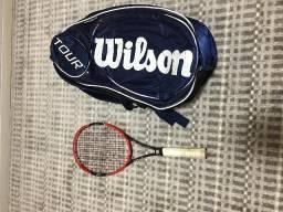 Raquete Wilson Pro Staff RF95 340g + Raqueteira Wilson Tour 6