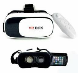 VR BOX - óculos de realidade virtual com controle