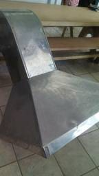 Coifa em aço inox