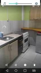 Kj Mobiliado, quarto com suite, cozinha individual