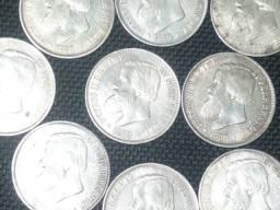 Compro/Coleciono Moedas De Prata Antes de 1913 Pago 1.000 Reais o Quilo Ou 15 cada-Sp