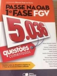 Livro 5000 questões comentadas OAB