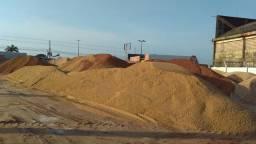 Promoção de areia e seixo