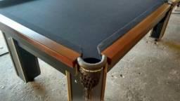 Modelo ( jsu789) mesa de bilhar pano verde CUbro orçamento