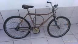 Bicicleta antiga Monark Barra Circular