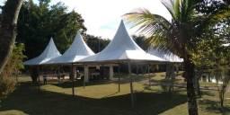Locação de tendas e palco