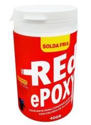 Solda Red Epoxy Brasweld Uso Metais E Ar Condicionado