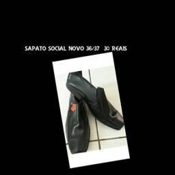 Sapato social novo e chuteira society
