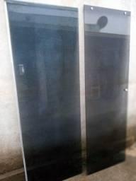 Vidro de box usado