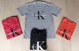 Kits 12 Camisetas Masculinas (CK , Thommy Hilfinger)