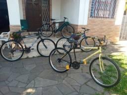 Bicicletas aro 26 com 18 e 21 marchas todas exelentes. leia o anúncio