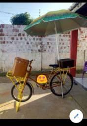 Bicicleta cargueira pintura nova