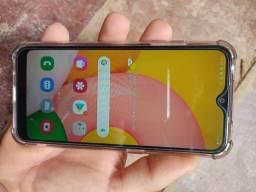 Samsung A01 em estado de novo