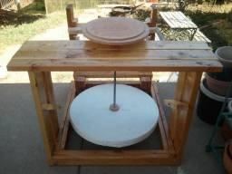 Torno artesanal para ceramicista