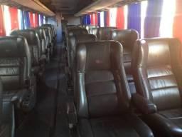 Poltronas de ônibus luxuosas e com couro legítimo!!!