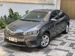 Corolla ano 15/16 completo de tudo , todas as revisões feitas na Toyota e muito mais