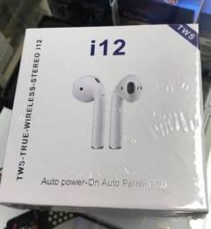 Fones de Ouvido I12 Tws Bluetooth