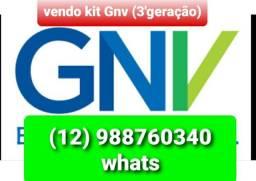 Kit GNV completo 3'geração (15,5 m3) aceito cartões