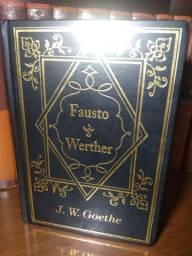 Fausto e  Werther de Goethe em capa dura