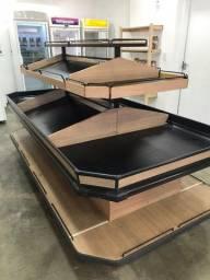Expositor de hortifruti de madeira (apenas 1 unidade) R$ 3.900,00