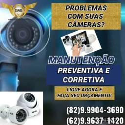 Cftv,câmeras de segurança e alarme