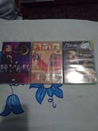 CDs e DVDs original...