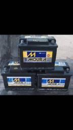 Bateria moura e heliar