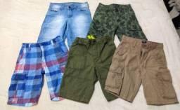 Bermudas infantis masculinas