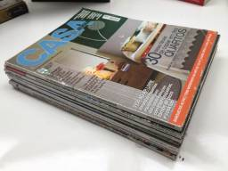 Coleção de 7 revistas de arquitetura (AU, Casa Claudia, Construir)