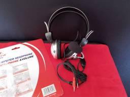 Fone de Ouvido HeadSet com Microfone *Novo