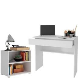 Jogo escrivaninha e mesa de canto