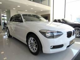 BMW 116i 2014 1.6 16V TURBO GASOLINA 4P AUTOMÁTICA BRANCA COMPLETA ÚNICO DONO!