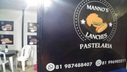Lanchonete Manno's Lanches em Barra de Jangada