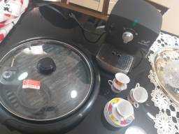 Kit grill e cafeteira