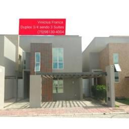 Excelente Duplex  Sendo 3/4 e 3 Suíte Mais Closet