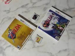 Jogos Zeldas OoT  Majora's Mask 3ds comprar usado  Belem
