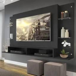 Venda de Painel Nairóbi Multimóveis para TV de até 60 Polegadas com Nicho Preto