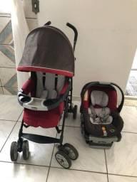 Carrinho + Bebê Conforto Chicco