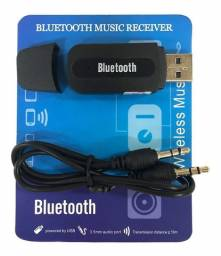 R$30,00 - Receptor Bluetooth Usb P2 Audio Sterio