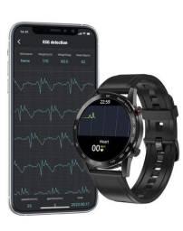 Dt95 relógio inteligente smartwatch aprova d'água ip68 faz e recebe chamadas