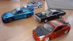 Carros colecionáveis Metal Die Cast Escala 1/18