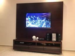 Painel de Tv + móvel + conjunto de prateleiras