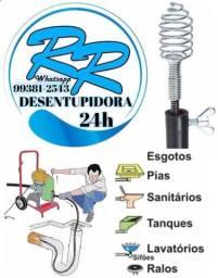 Desentupidora R.R atendimento 24horas